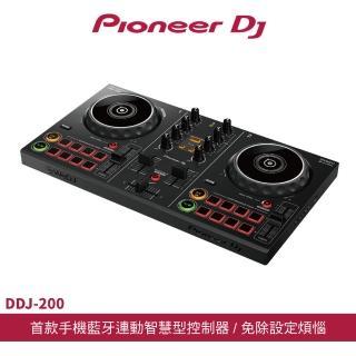 【Pioneer DJ】DDJ-200 智慧型DJ控制器(DJ控制器)