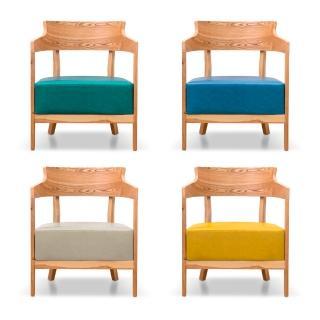 【AS】曼蒂單人休閒椅四色可選-62.5x59x78cm