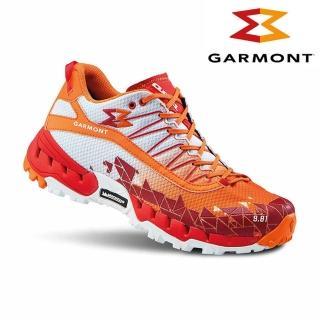 【GARMONT】男GTX低筒越野疾行健走鞋9.81 N.AIR.G. Surround/橘色(GoreTex、米其林大底)