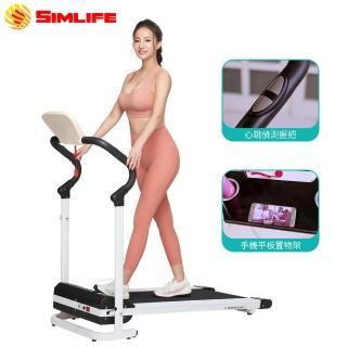 【Simlife】免組裝鋼構強化電動跑步機(電動跑步機/跑步機/健走機/健身/Simlife)