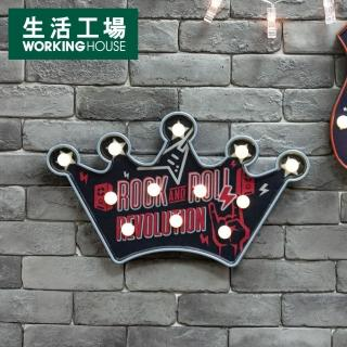 【生活工場】皇冠造型LED掛飾