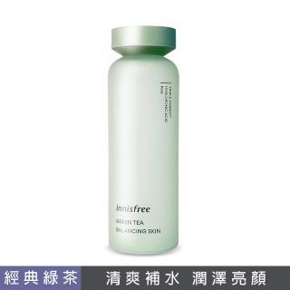 【innisfree】綠茶水平衡調理液(清爽滋潤肌膚)