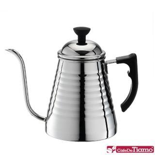 【Tiamo】1104A不鏽鋼細口壺1.0L-法蘭西(HA1615)