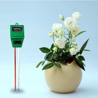 【PUSH!】園藝用品土壤酸鹼度計濕度計照度計三合一土壤檢測儀ph計(B31一入)
