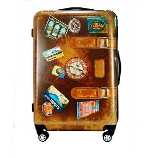 【Coolone】28吋 仿古ABS行李箱(ABS行李箱 特色仿古造型)