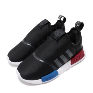 【adidas 愛迪達】休閒鞋 NMD 360 I 經典 童鞋 愛迪達 OG配色 親子鞋 穿搭 小童 黑 白(EE6355)