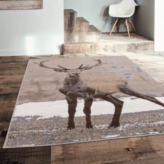 【Ambience】比利時Shiraz 現代地毯--鹿(120x170cm)