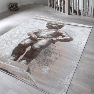 【Ambience】比利時Shiraz 現代地毯--尿尿小童(120x170cm)