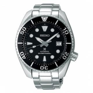 【SEIKO 精工】PROSPEX系列廣告款潛水機械錶-黑(6R35-00A0D/SPB101J1)