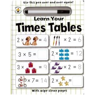 Learn Your Times Tables W