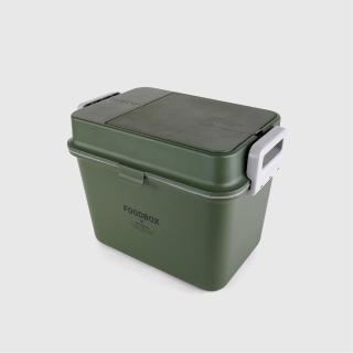 【SPUTNIK 斯普尼克】COZY FOOD BOX 機能飼料箱(綠色)