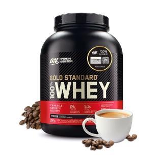 【美國 ON】金牌 WHEY 乳清蛋白(咖啡/5磅/罐)