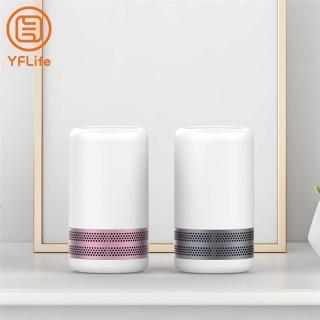 【YFLife圓方】AIR3 Plus 奈米光觸媒負離子 雙效空氣清淨機(殺菌除塵蹣、PM2.5、分解甲醛、實驗室證明)