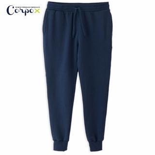 【Corpo X】女款發熱柔刷毛休閒褲(深藍)