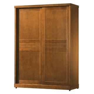 【AS】艾朵柚木5×7尺衣櫥-145.5x60.5x200cm
