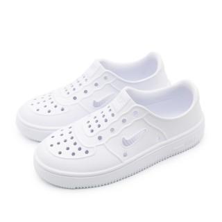 【NIKE 耐吉】NIKE FOAM FORCE 1 PS 白-AT5243100(中童休閒鞋)