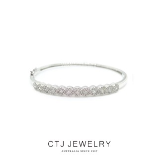 【CTJ】花漾1克拉18K金鑽石手環(特選‧F/SI)