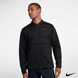 【NIKE 耐吉】Nike Golf 男 運動高爾夫長袖外套夾克 -黑 932236-010