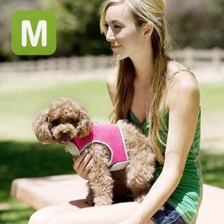 【crazypaws 瘋狂爪子】多層次透氣網布護胸M號-寵物外出胸背帶(寵物護胸/寵物項圈/胸背帶)