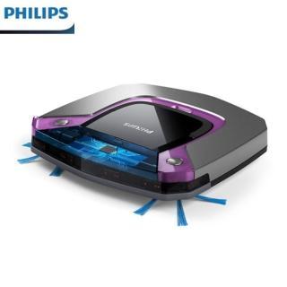 【Philips 飛利浦】超薄濕拖 智慧掃地機器人(FC8796/31)