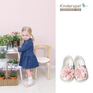 【Kinderspel】郊遊趣休閒學步鞋(粉嫩蛋苞花)