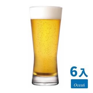 【Ocean】大都會無鉛玻璃啤酒杯6入組(400cc)