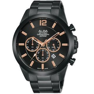 【ALBA】百搭潮流計時手錶(VD53-X352SD AT3G39X1)