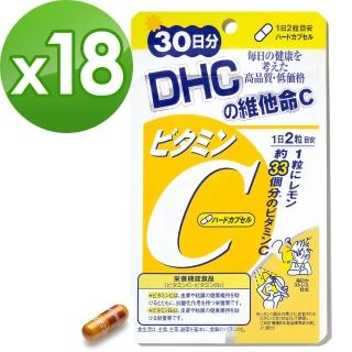 【DHC】維他命C 30日份(60粒/包)*18包組