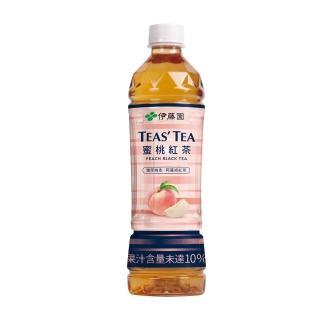 【伊藤園】TEAS TEA 蜜桃紅茶535mlx24入
