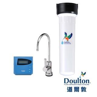 【DOULTON 道爾敦】陶瓷濾芯顯示型單管塑鋼櫥下型淨水器(HIP-M12)