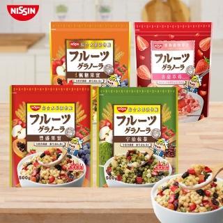 【日清】豐盛果實綜合水果穀物脆500gx1入