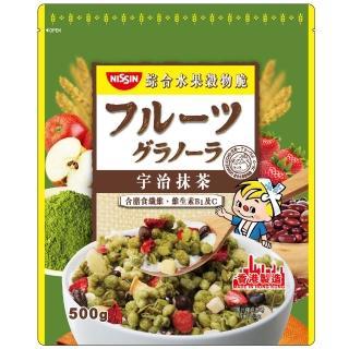 【日清】宇治抹茶綜合水果穀物脆500gx1入