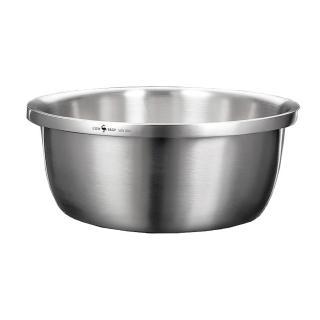 【PUSH!】廚房用品加厚304不鏽鋼調料盆調味缸洗菜盆和麵盆打蛋盆(30公分D188-1)
