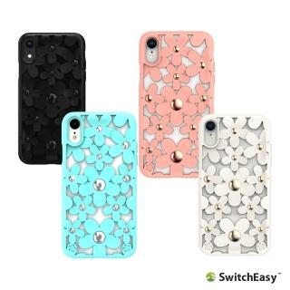 【Switcheasy】iPhone XR Fleur 3D花朵吸震防摔保護殼(保護殼)