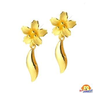 【D.M.】花苑黃金耳環0.45錢