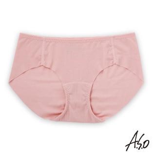 【A.S.O 阿瘦集團】負離子系列-女士無痕內褲(粉色)