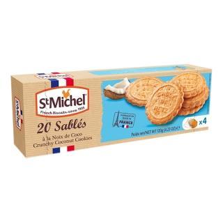 【St.Michel】椰子風味餅 120g(法國百年知名品牌)