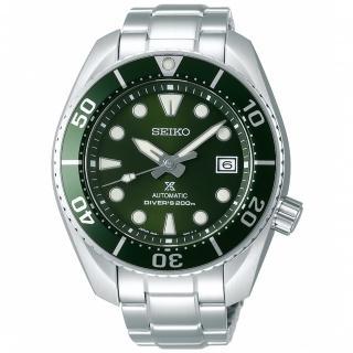 【SEIKO 精工】Prospex 綠水鬼相撲廣告款潛水機械錶-綠/45mm(SPB103J1/6R35-00A0G)