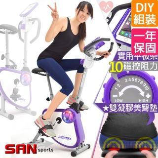 【SAN SPORTS 山司伯特】YA!奇摩子!飛輪式磁控健身車(C149-024)