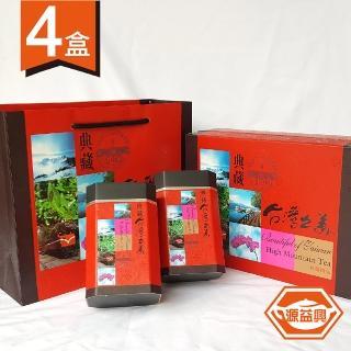 【源益興】特等杉林溪手採甘露高山茶葉禮盒(4盒共2斤/贈提袋)