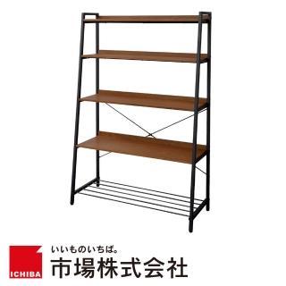 【日本 ICHIBA】ICHIBA 日系工業風雜誌陳列置物架(LOFT/書架/展示架/多用途層架)
