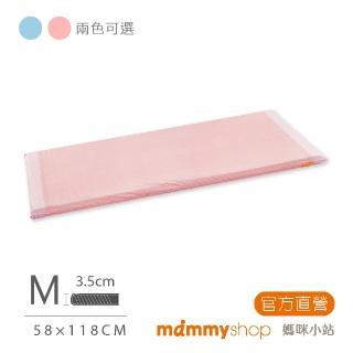 【mammyshop 媽咪小站】天然嬰兒乳膠床墊 M號(59x119x3.5CM)