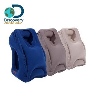 【Discovery Adventures】便攜充氣式趴睡枕(護頸枕 旅行枕 趴睡枕 抱枕 午休枕)