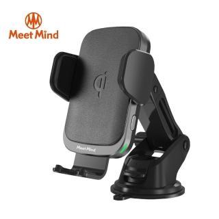 【Meet Mind】i Car線圈感應10W Qi認證無線充電車架