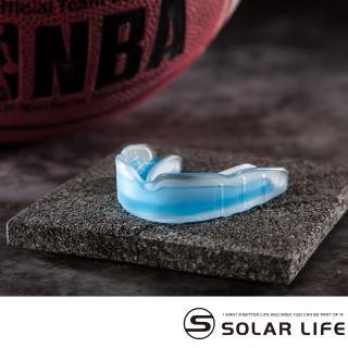 【索樂生活】谷樂Coollo 專業運動牙套護齒器-BB籃球專用牙套(可塑型護牙套雙層防磨牙EVA護齒套附收納盒)