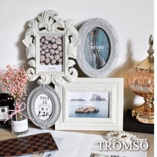 【TROMSO】夏朵馬卡龍4框組-米黃(相框組合相框)