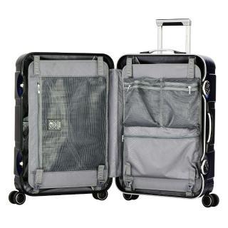 【eminent 萬國通路】28吋 克洛斯 鋁合金淺鋁框行李箱/旅行箱(新品藍-9P0)