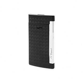 【S.T.Dupont 都彭】SLIM7系列防風打火機黑色菱格紋(27714)