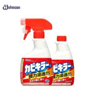 【SC Johnson】浴室多用途黴菌清潔噴霧(本體400g+替換400g)