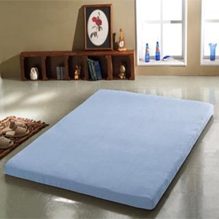 【班尼斯】8公分惰性記憶矽膠床墊-附3M吸濕排汗布套(全平面-5尺雙人)
